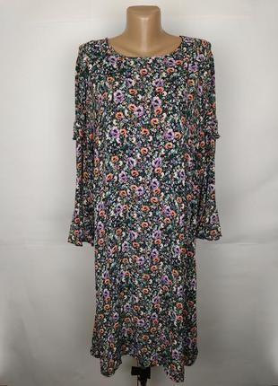 Платье красивое натуральное большой размер monsoon uk 20/48/3xl
