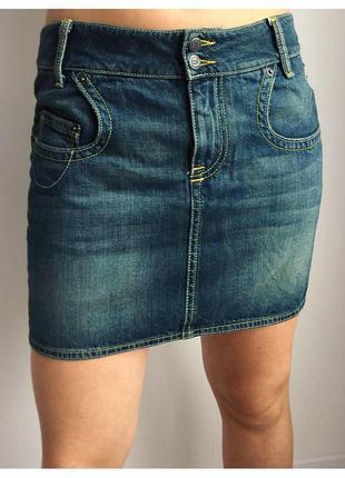Юбка джинсовая, мини юбка, модная юбка.