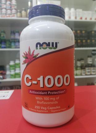 Now C-1000 250 капсул (Витамин Ц)