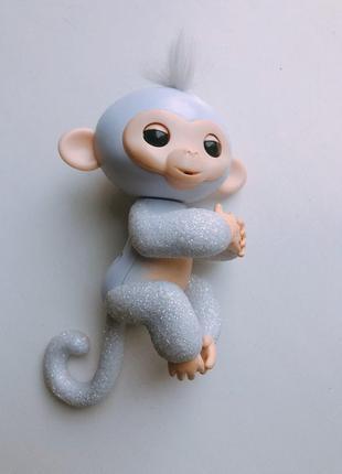 СКИДКА игрушка обезьянка Fingerlings