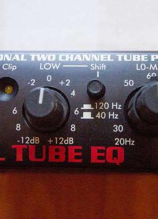 ART Dual tube EQ ( ламповый эквалайзер  )