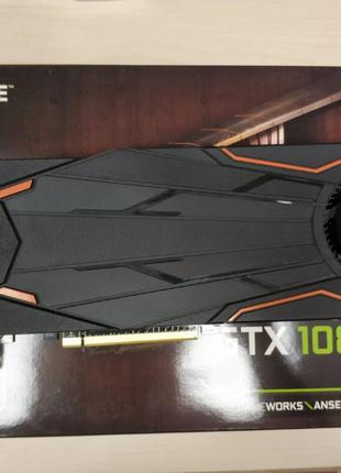 Видеокарта Gigabyte GeForce GTX 1080 Turbo OC 8G на гарантии