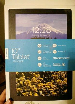 "Планшет Lenovo TAB 10 WiFi 10"" 16GB Black"