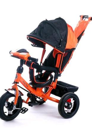 Велосипед трехколесный Baby Trike 6588 с ключем зажигания.