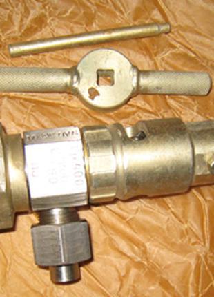 Вентиль угловой газообразный К 23134-010