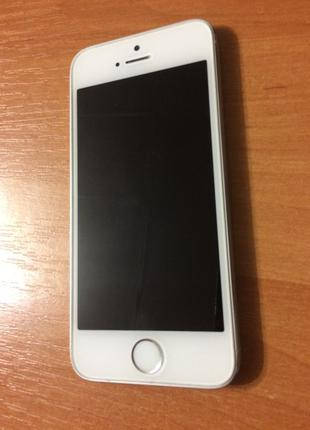 IPhone 5S 16gb Silver Идеальный