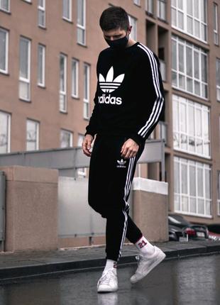 Спортивный костюм Adidas Trine (свитшот + штаны) летний