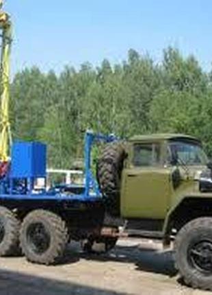 Бурение скважены Борисполь