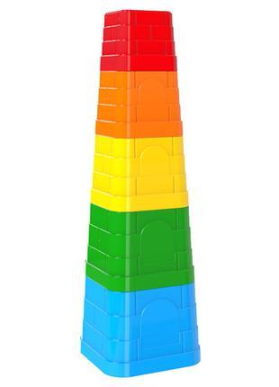Игрушка Пирамидка ТехноК арт. 5385 формочки для башни