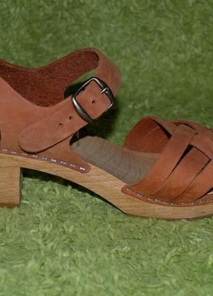 Кожаные босоножки moheda шведского обувого бренда.