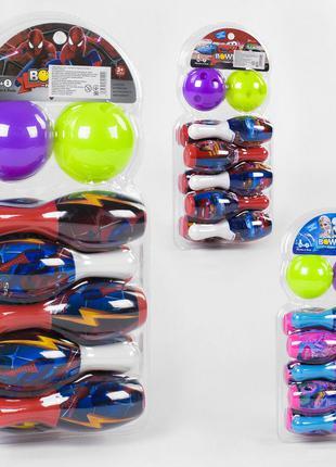 Игровой набор Боулинг YD 2588 кегли 10 шт. мячики 2 шт.