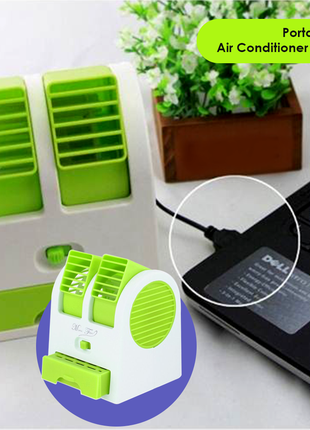 Вентилятор освежитель воздуха - mini fan my-0199