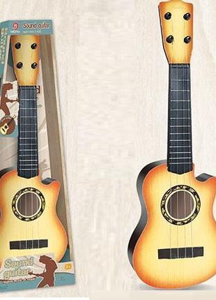 Гитара игрушечная со струнами и медиатором 898-27 АВ