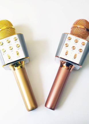 Микрофон Wster WS-1688 USB, microSD, AUX, Bluetooth, REC