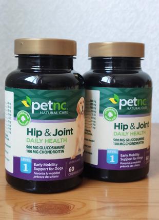 Глюкозамин, хондроитин для суставов собак, 1-уровень, Petnc