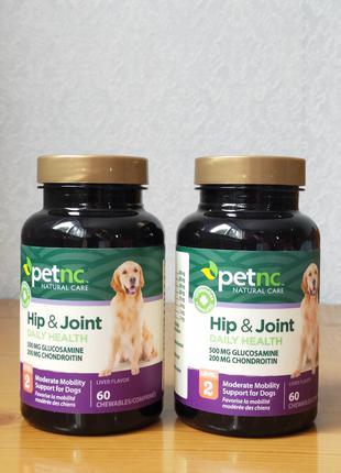 Глюкозамин, хондроитин для суставов собак, 3-уровень, Petnc