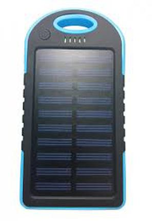 Power Bank Solar 30000 mAh + Фонарь павер банк солнечный аккум