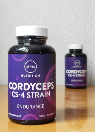 MRM, Кордицепс, штамм CS-4, 60 капсул