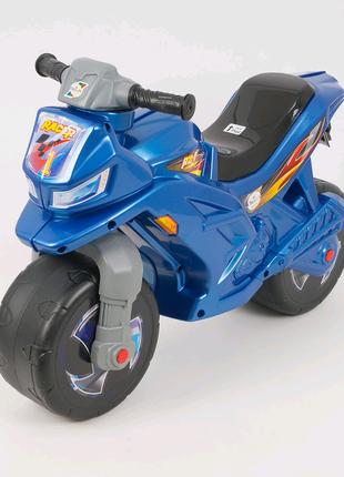Каталка-толокар - Беговел детский. Мотоцикл Синий