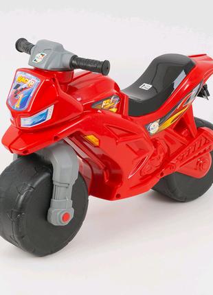 Мотоцикл,толокар,беговел детский, красный