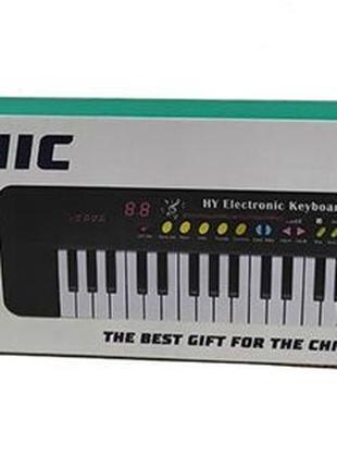 Игрушка Пианино SD- 335 Детский синтезатор с микрофоном