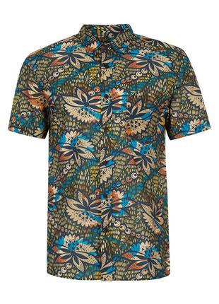 Рубашка TOPMAN с коротким рукавом !