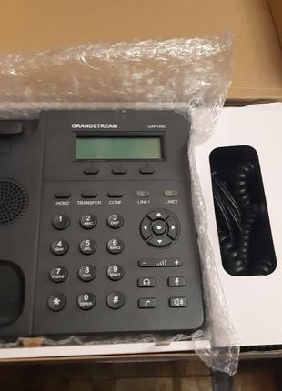 Отличный бюджетный IP телефон GRANDSTREAM GXP1405 полный комплект