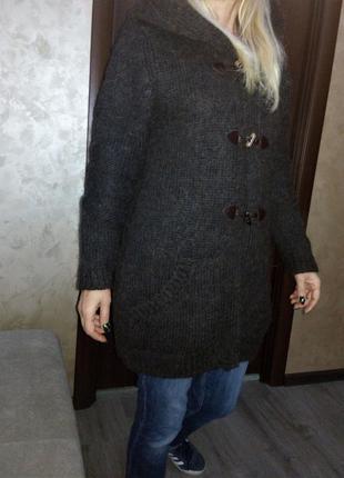 Австрия northland кофта с капюшоном кардиган-пальто из качеств...