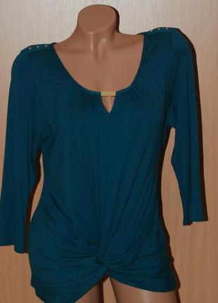 Блуза бренда wallis/ виридоновый зеленый цвет/