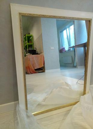 Новое Зеркало на стену, зеркало в багете, зеркало 800 грн.