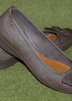 Элегантные туфли бренда marco tozzi