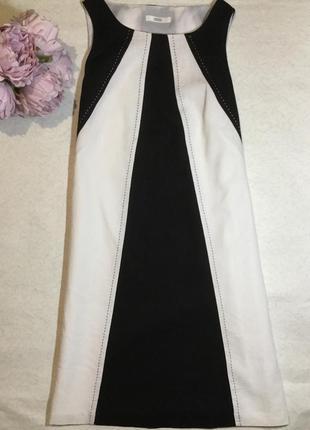 Платье льняное  трапеция  marks&spenser размер 8