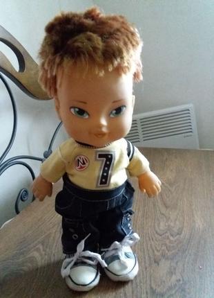 Большая кукла, лялька. Девочка 35 см в одежде и кедах