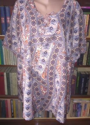 Шикарная блузка большого размера