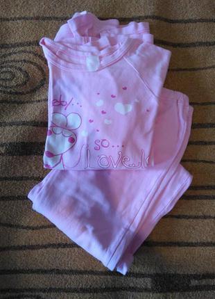 Пижама зимняя для девочки