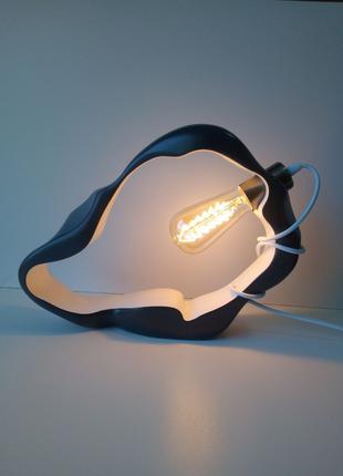 Настільна лампа. Світильник. Ручна робота, дерев'яне освітлення