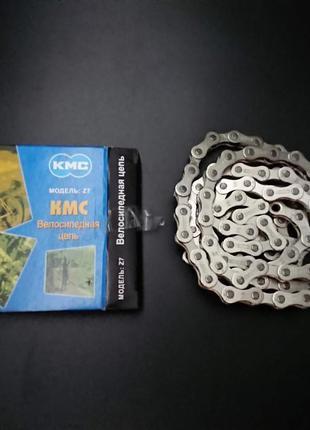 "Велосипедная цепь КМС Z7, размер 1/2""х3/32"" ,116 звеньев"