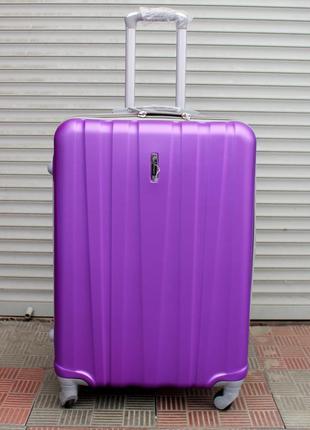 Чемодан ,большой чемодан, пластиковый чемодан, валiза