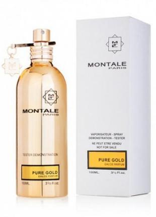 Montale pure gold  женский 100ml тестер