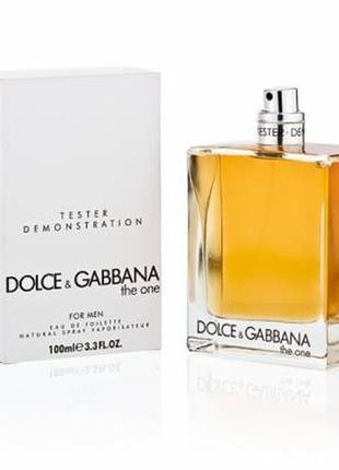 Туалетная вода dolce&gabbana the one for men.
