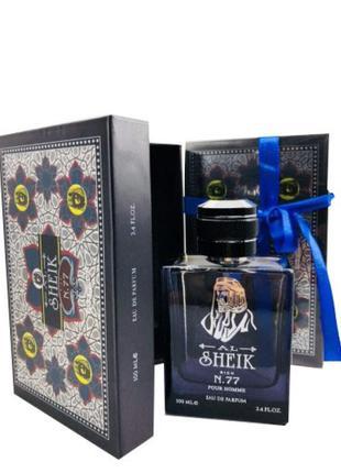 Мужская парфюмерная вода shaik rich no77 pour homme 100ml