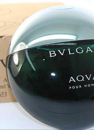 Bvlgari aqva pour homme. eau de toilette tester