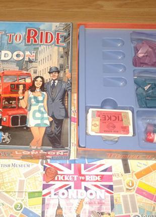 Ticket to Ride: London настольная игра Билет на поезд: Лондон