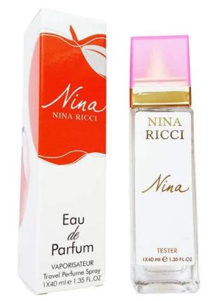 Nina ricci nina eau de parfum ( 40 мл)тестер