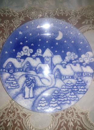 Тарелка декор