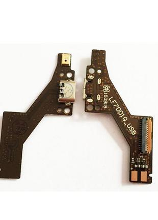 Шлейф для Lenovo PB1-750M Phab, с разъемом зарядки, с микрофоном,