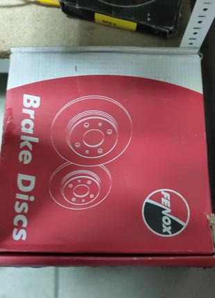 Диск тормозной ВАЗ 2101-2107, Fenox