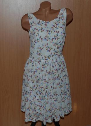 Летнее воздушное платье бренда  oodji