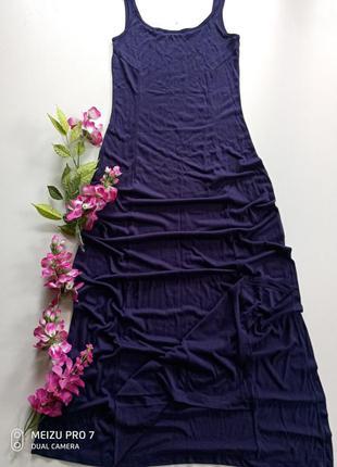 Длинное фирменное платье майка в пол от немецкого бренда esmar...