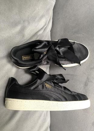 Распродажа! новые чёрные кеды puma, nike, adidas (оригинал)